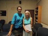 Sierra Club volunteers, Lori Glover and Kay Plavidal