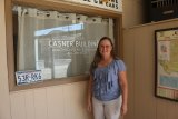 Joyce Holman Page is hosting an open house at the newly refurbished Casner buildings.